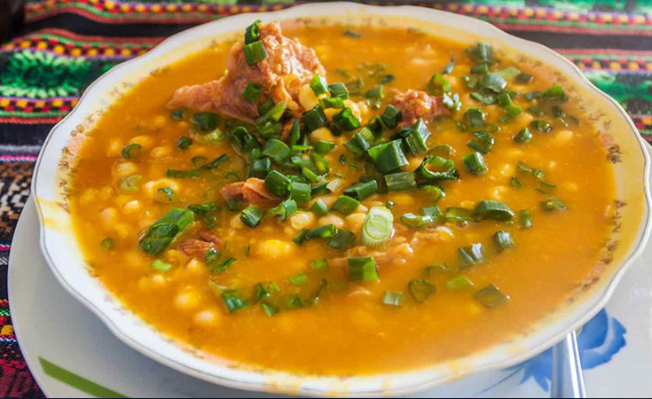 The Locro - traditional dish