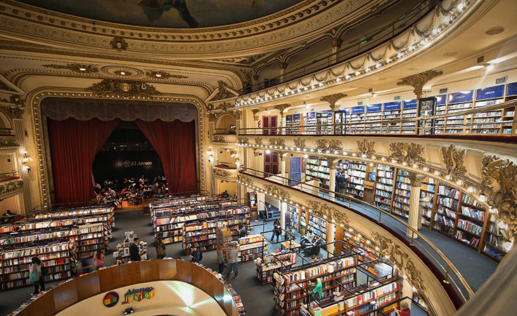 The Bookshop El Ateneo Grand Splendid