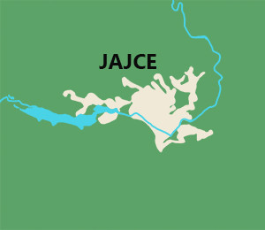 Map of Jajce