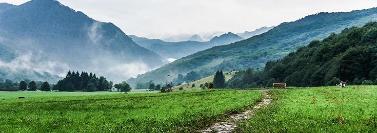 The National Park Sutjeska