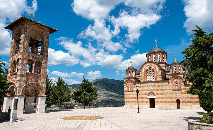 Most important holy places in Trebinje