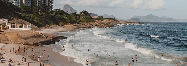 The Arpoador Beach