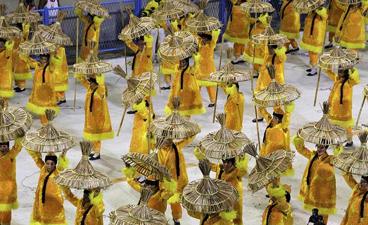 Samba dance styles