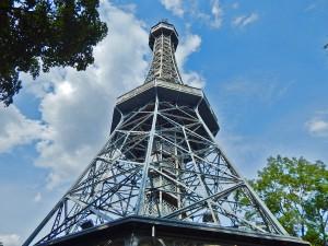 Petřín Tower in Prague
