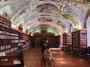 Strahov Library in Prague