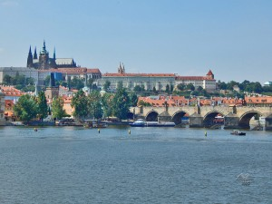 Praški zamak i Karlov most