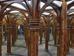The Mirror Maze on Petrin Hill in Prague