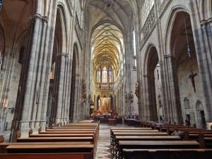 Saint Vitus Cathedral at Prague's Castle