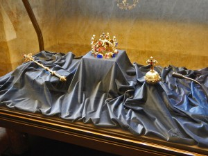 Reproduction of the Czech Royal jewels
