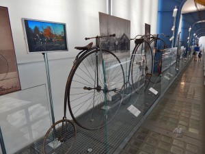 Vintage bicycles at National Museum of Technology in Prague