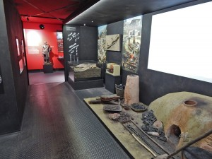 Metallurgy section at National Museum of Technology in Prague