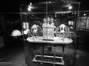 Old astronomical equipment at National Museum of Technology