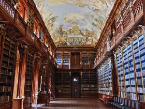 Philosophical Hall at Strahov Library in Prague