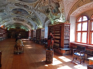 Theological Hall at Strahov Library in Prague