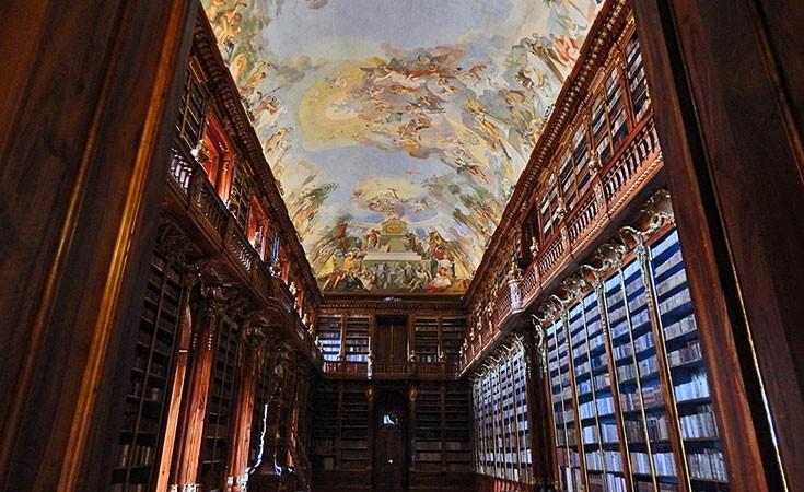 Biblioteka Strahov u Pragu