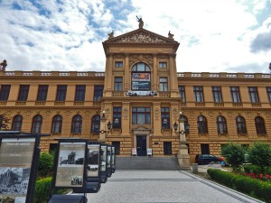Entrance to the City of Prague Museum