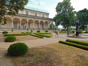 Queen Ann's Summer Palace in the Prague's Castle