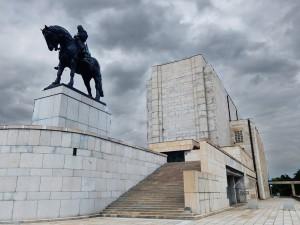 National Monument on Vitkov Hill in Prague