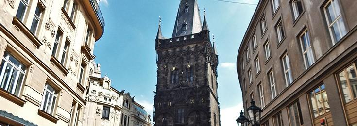 Powder Tower in Prague