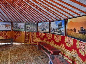 Mongolian tent at Prague's Zoo