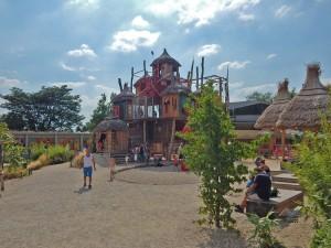 Area designated for children at Prague's Zoo
