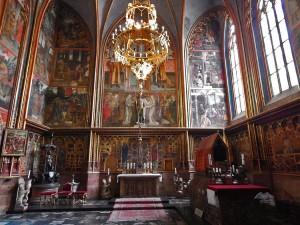 Saint Wenceslas chapel at Saint Vitus Cathedral