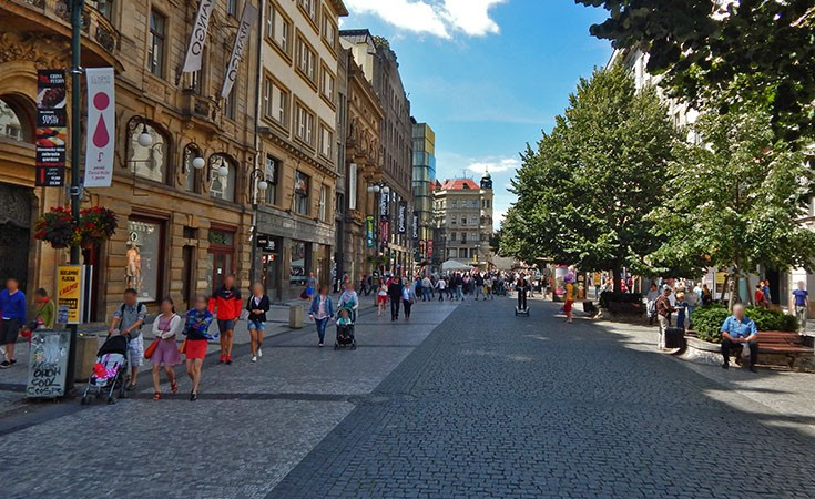 Male prodavnice u Pragu
