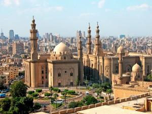 Mosque Madrassa of Sultan Hassan in Cairo