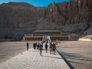 Al-Deir Al-Bahari Temple in Luxor