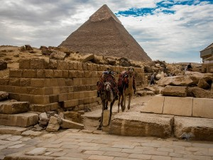 The Great Plateau in Giza