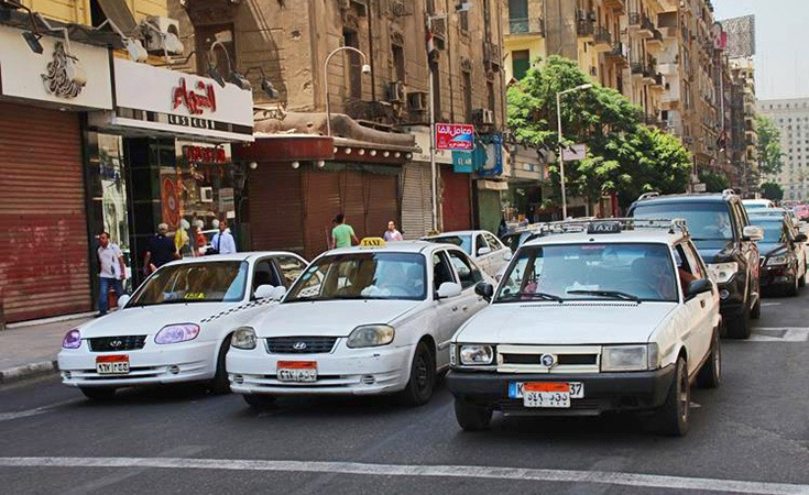 Taxi and UBER in Egypt