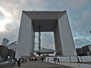Grand Arch de la Defense in Paris