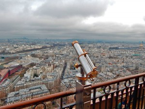View from the Eiffel Tower in Paris