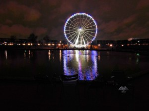 Concord Square in Paris by night