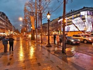 Champs-Élysées Avenue in Paris