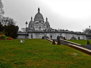 Montmartre Hill and the Sacré-Coeur Basilica