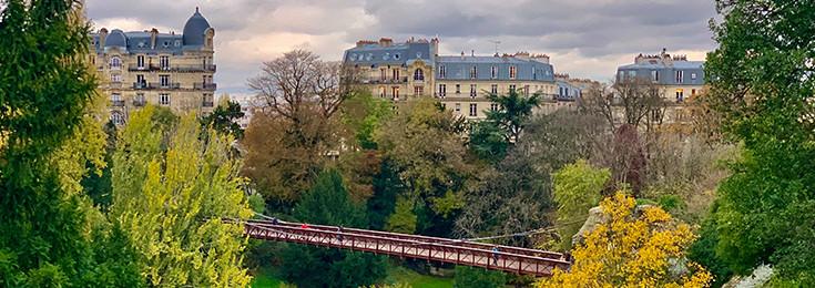Buttes-Chaumont park