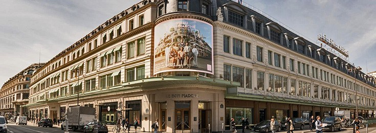 Le Bon Marché shopping mall in Paris