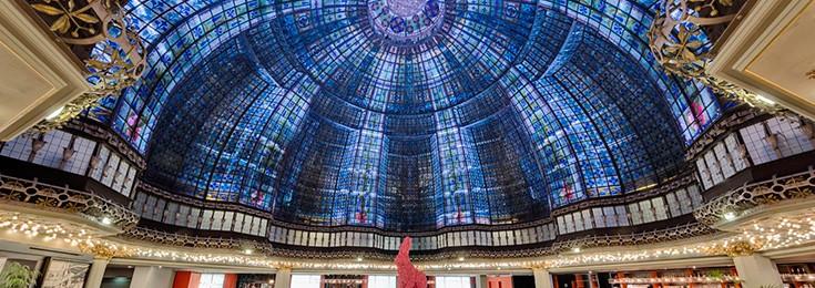 Printemps Haussmann shopping mall