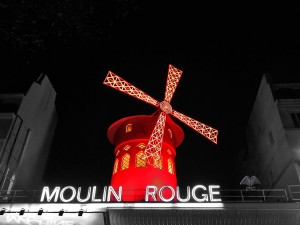 Red Windmill of Moulin Rouge