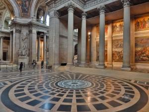 Inside of the Paris' Pantheon