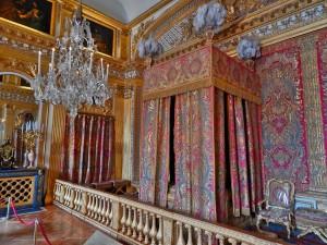 The bedroom of Queen Marie Antoinette