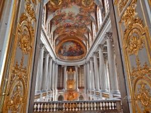 Interior of the Versailles Palace near Paris