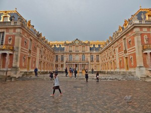 Front yard of the Versailles Palace