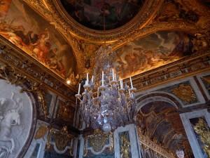 Breathtaking murals at Versailles Palace