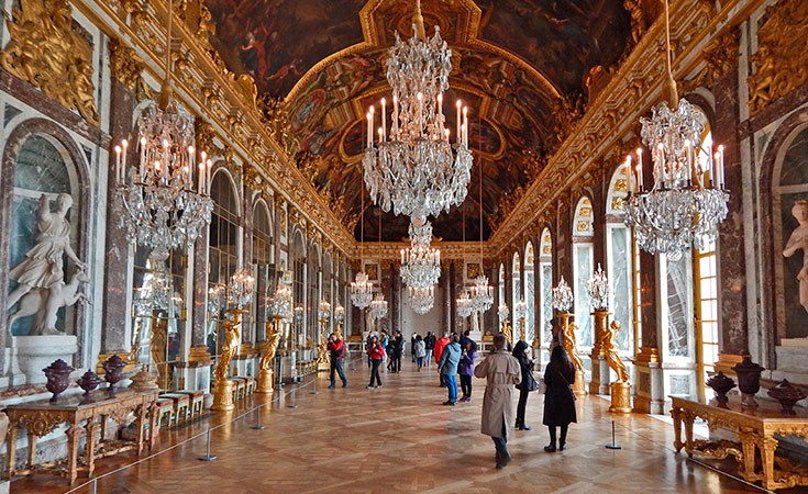 Versailles Palace in Paris