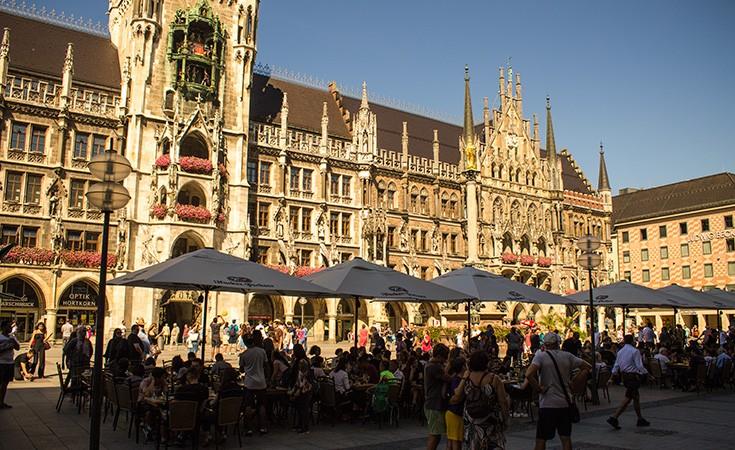 Marienplatz u Minhenu