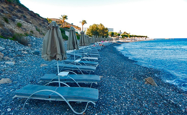 Dimitra Beach on the island of Kos