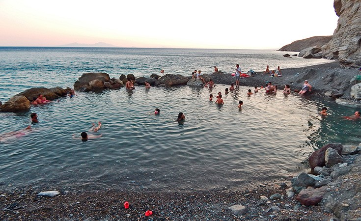 Termalna plaža na Kosu