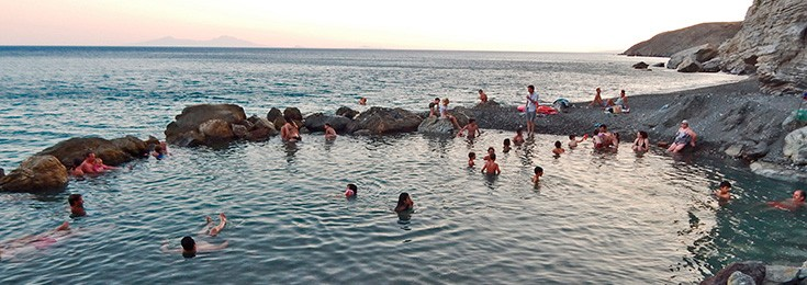 Thermal Spring Beach on Kos